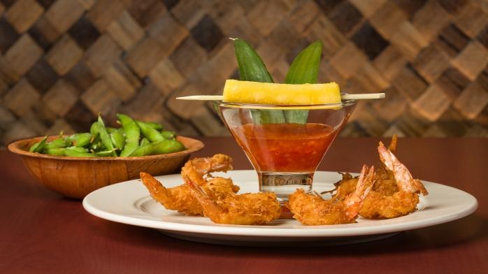 Coconut Shrimp / Edamame