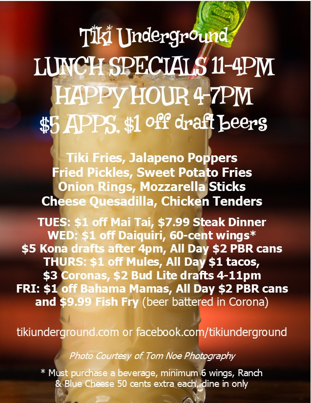 TU Table Tents September 2017 happy hour only
