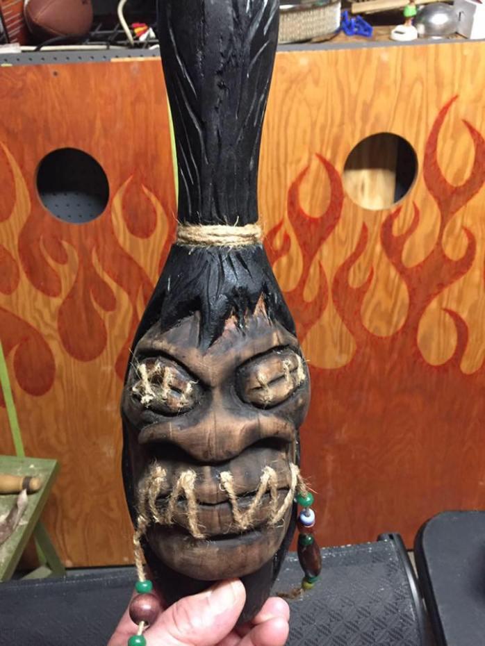 Ahiiha Tiki shrunken head