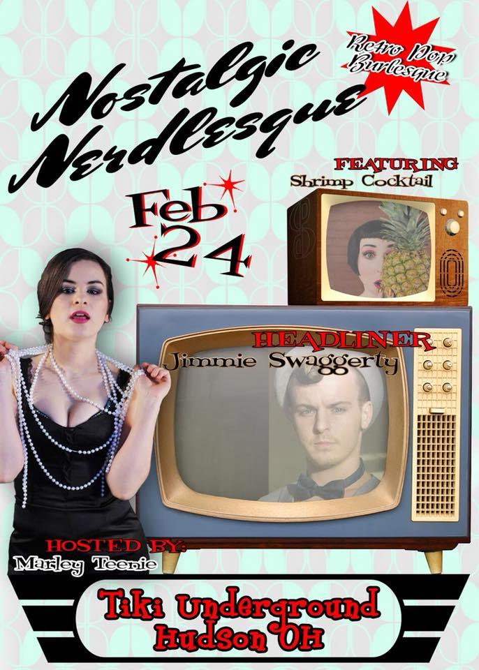 Nostaligic Nerdlesque poster