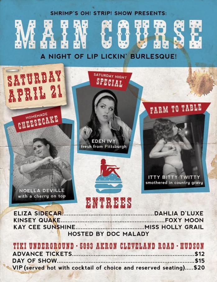 Lip Lickin Burlesque poster