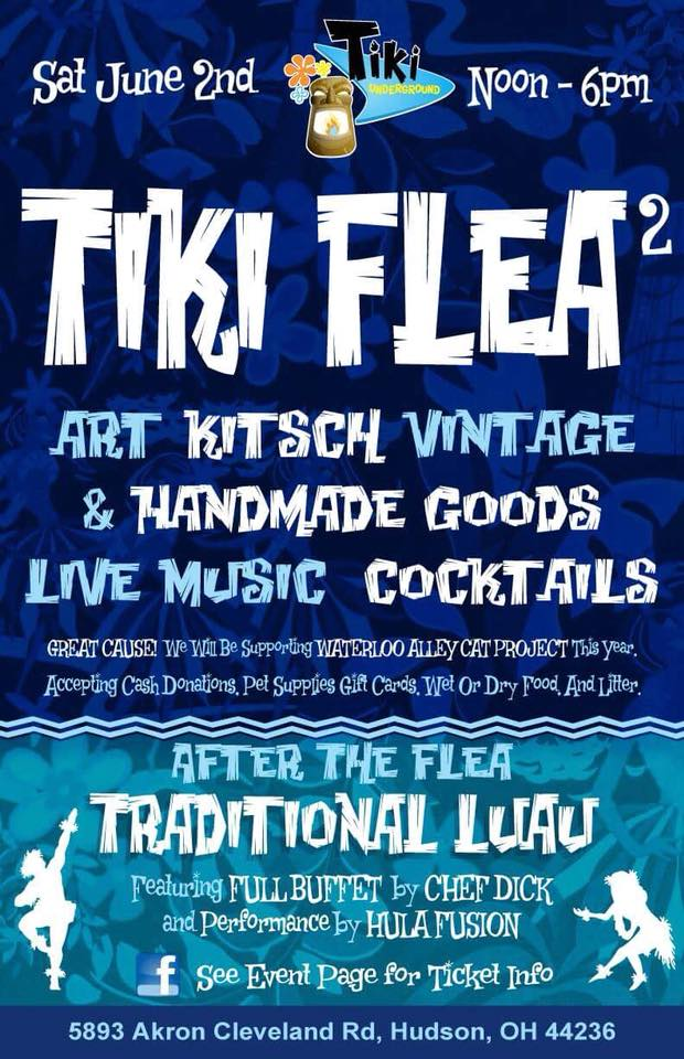 TU TIKI FLEA TWO Poster